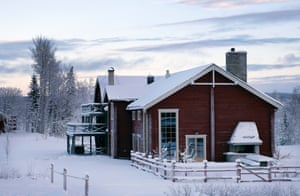 Faviken restaurant is 'nicely situated' in deep forest.
