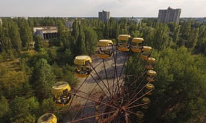 The town of Pripyat, near Chernobyl, which had a population of about 40,000 and housed plant workers and their families, was evacuated in 1986 and has been abandoned ever since.