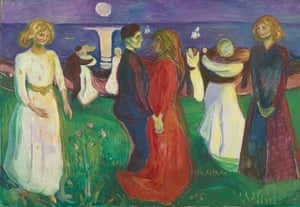 Munch, The Dance of Life.