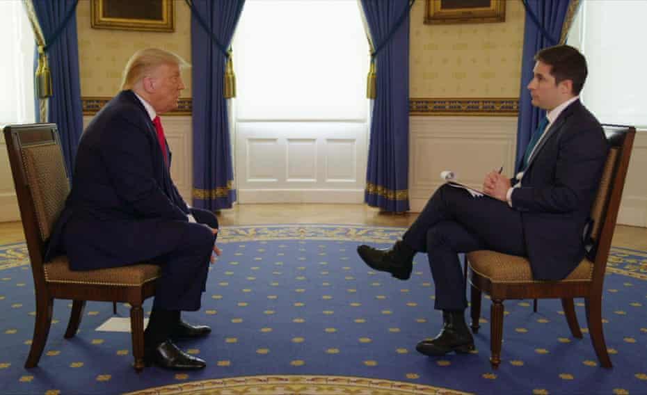 Donald Trump interviewé par Jonathan Swan sur HBO