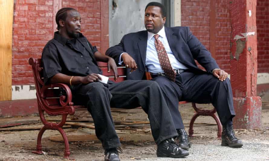 Omar con Bunk Moreland en la tercera temporada de The Wire.