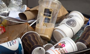 """The so-called Cup Fund is financed by the 5p paper cup charge or """"latte levy"""" introduced by Starbucks lat year."""