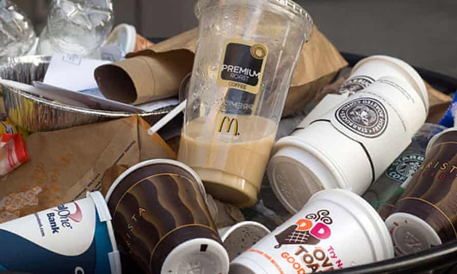 "The so-called Cup Fund is financed by the 5p paper cup charge or ""latte levy"" introduced by Starbucks lat year."