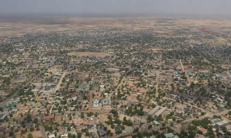 Maiduguri, the nort-easertn Nigerian city close to the village of Koshobe where the executions took place.