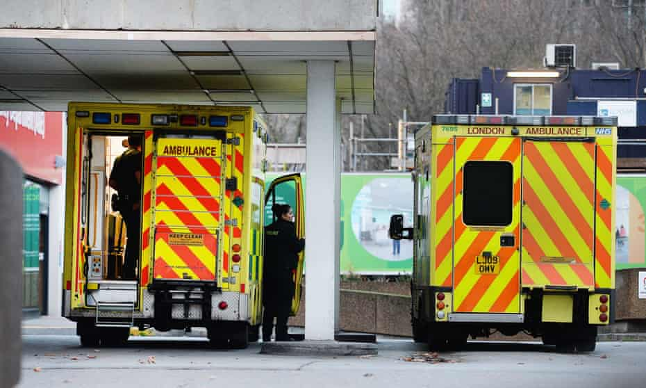 Just 83.6% of patients arriving at all types of A&E were treated or admitted within four hours, according to NHS England data.