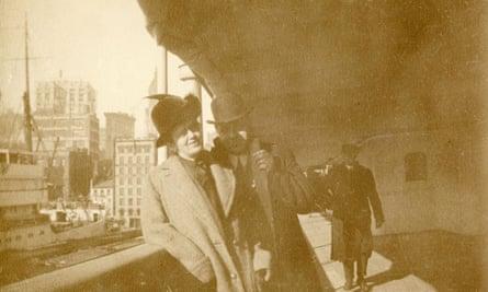 Alexander Oskar Holverson and Mary Holverson