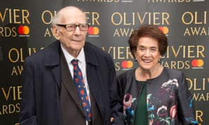 Lilian and Victor Hochhauser at the Olivier awards in 2017.