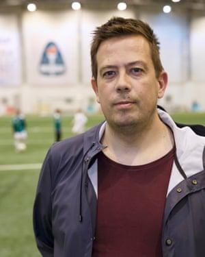 Dadi Rafnsson coach at Breidablik football club.