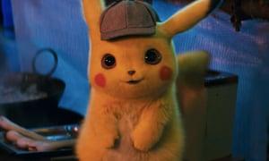 Realistic Pikachu: Detective Pikachu played by Ryan Reynolds in Warner Bros' upcoming movie