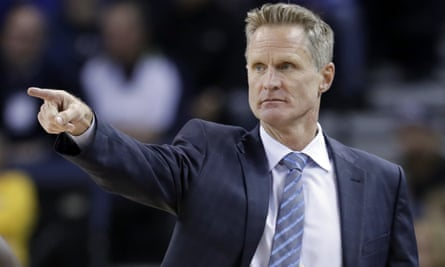 Steve Kerr has won two NBA titles with the Warriors