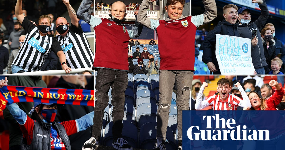 'It sounded like 80,000': how it felt to have fans back in Premier League