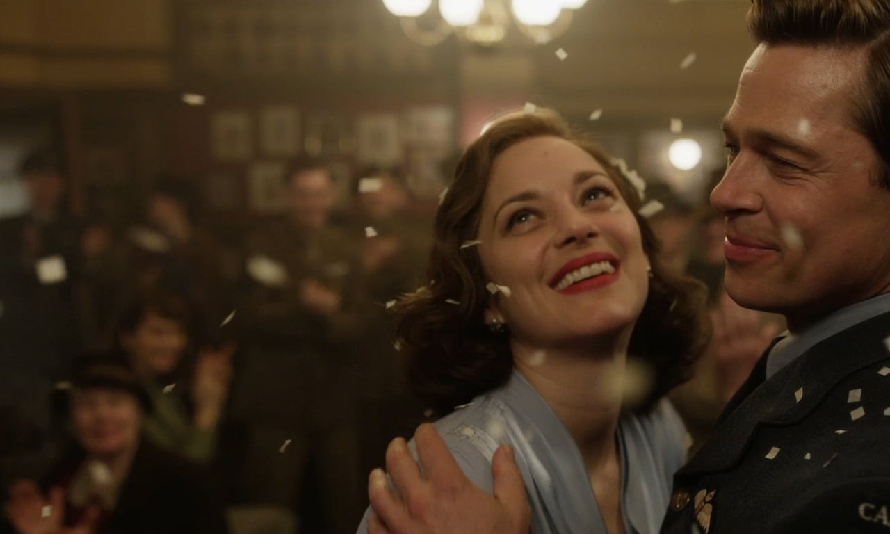 Brad Pitt and Marion Cotillard as second world war spies in trailer for  Allied – video