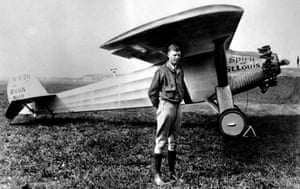 Aviator Charles Lindbergh personified the pre-war America First movement.
