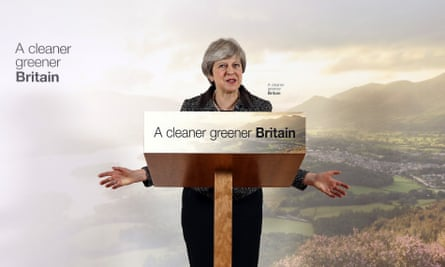 Theresa May launches her 25-year plan for the environment.