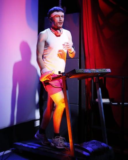 Richard Gadd, performing Monkey See Monkey Do in Edinburgh.