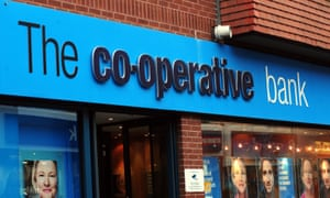 The Co-op Group's stake in its banking arm fell to 20% after hedge funds stepped in to fill the funding void.