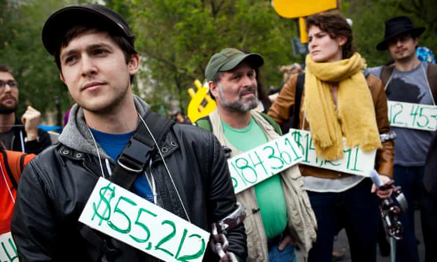 occupy wall street student loan debt crisis