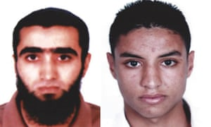 Undated handout photo issued by the Tunisian Interior Ministry of Mohammed al Charadi (left) and Rafik Talari, who are being sought by Tunisian authorities in connection with the terror attack in Sousse, Tunisia.