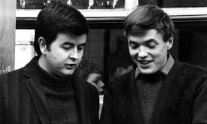 Rodney Bewes, left, with James Bolam in The Likely Lads.