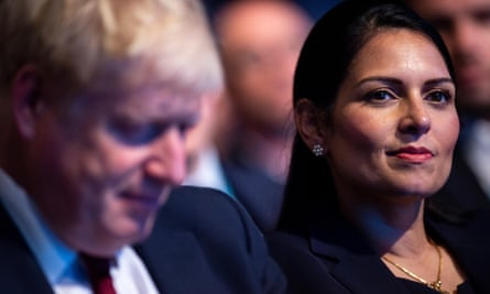 Priti Patel is out of her depth - and that is Boris ...