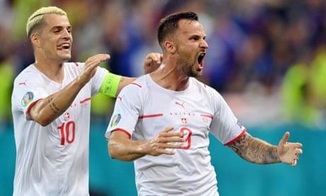 Haris Seferovic secures hero status in Switzerland after all the scorn   Nick Ames
