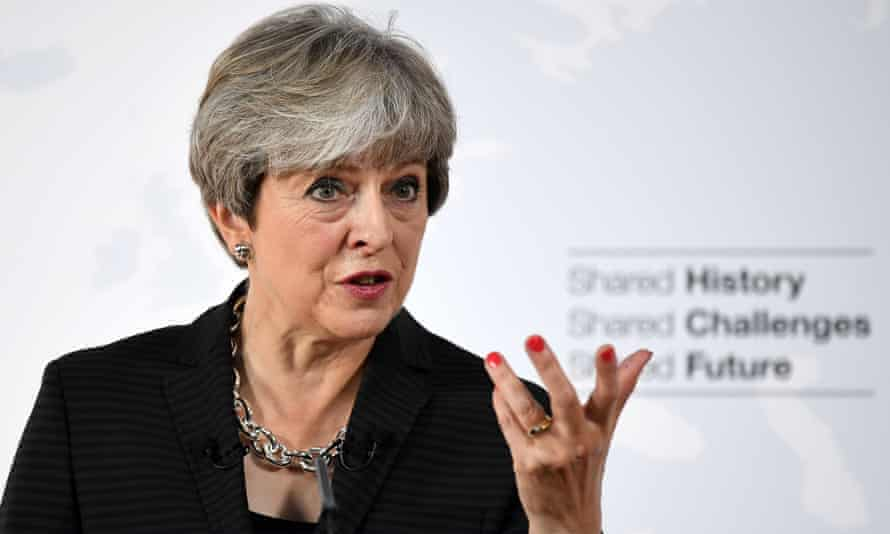 Theresa May delivers her Florence speech