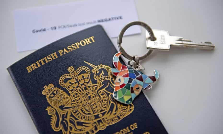 a new style British passport
