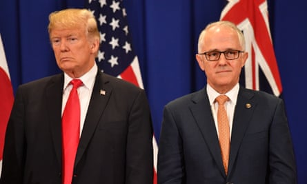 Trump and Turnbull at the Association of South East Asian Nations forum