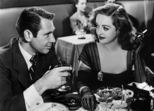 Bette Davis's Margo with Gary Merrill as Bill in All About Eve