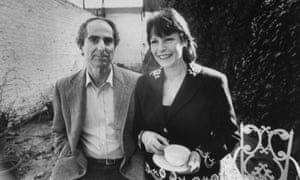 Philip Roth with Bloom.