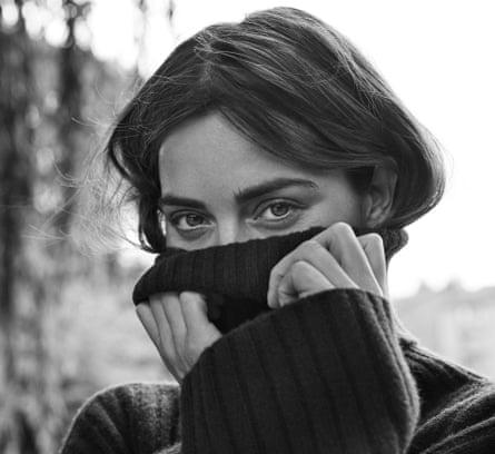 'I was a bit of a tomboy': Jenna Coleman wears black jumper by joseph-fashion.com.