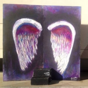 Colette Miller's Instagram picture of her Global Angel Wings project