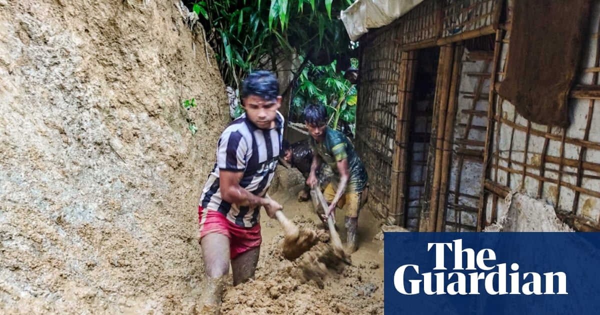 'A sample of hell': Rohingya forced to rebuild camps again after deadly floods