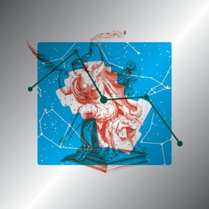 The sleeve of Hannah Peel's Mary Casio: Journey to Cassiopeia