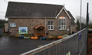 School Closure Mynydd-y-GarregSmall village schools in Wales are being threatened with closure. A school in Mynydd-y-Garreg Carmarthenshire is being threatened with closure. Here the Mynydd-y-Garreg school in Carmarthenshire, West Wales is observed.
