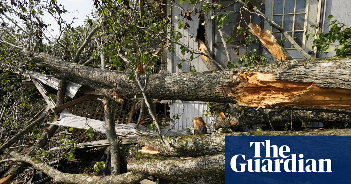 US south braced for more severe weather after tornadoes and hailstorms