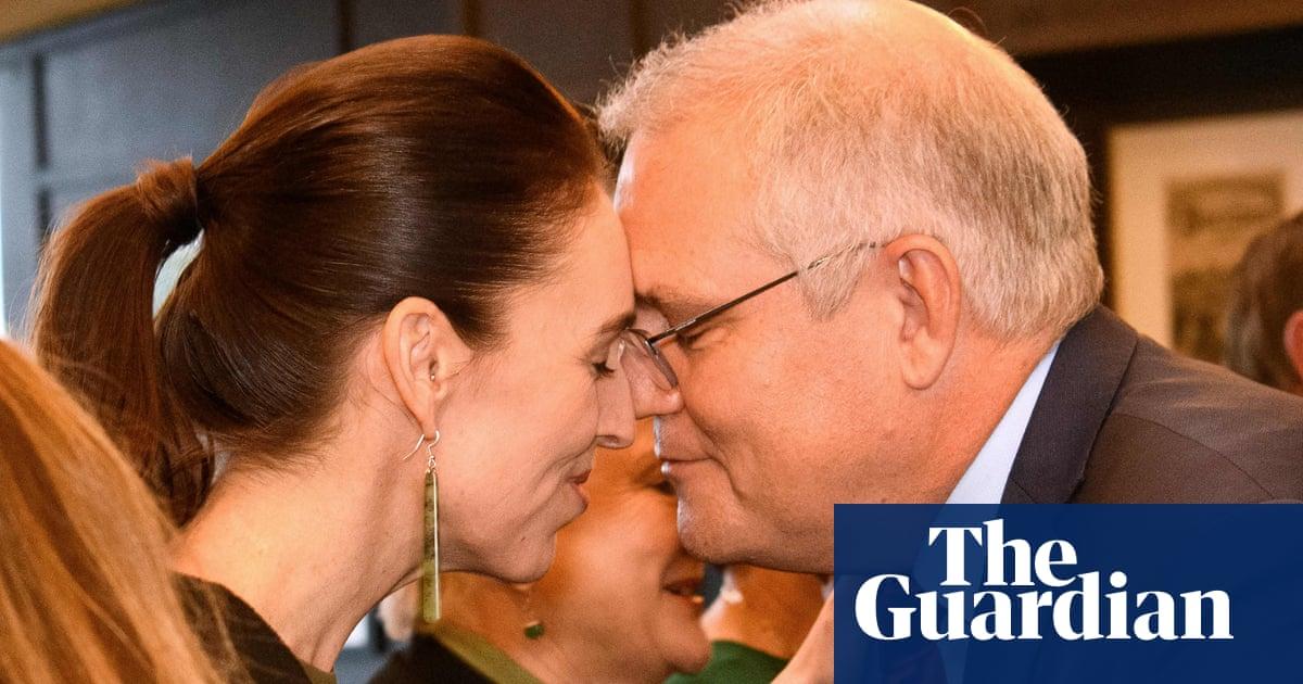Jacinda Ardern recibe a Scott Morrison para las conversaciones de Nueva Zelanda