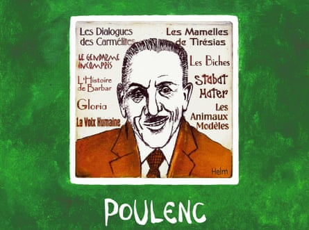 Francis Poulenc: 'monk and ragamuffin'