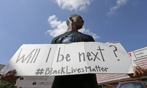 A Black Lives Matter protest on Park Lane in Dallas