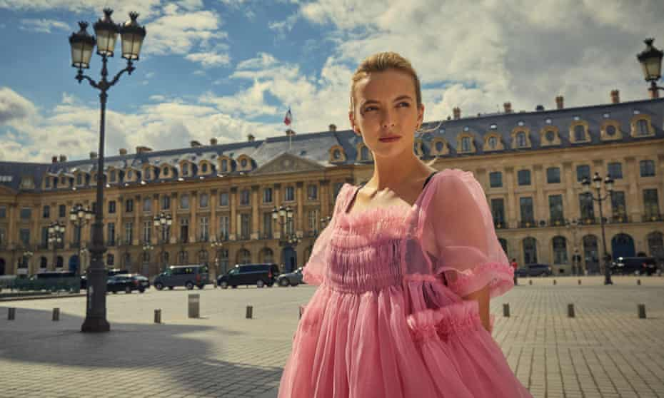 Villanelle in Killing Eve, played by Jodie Comer