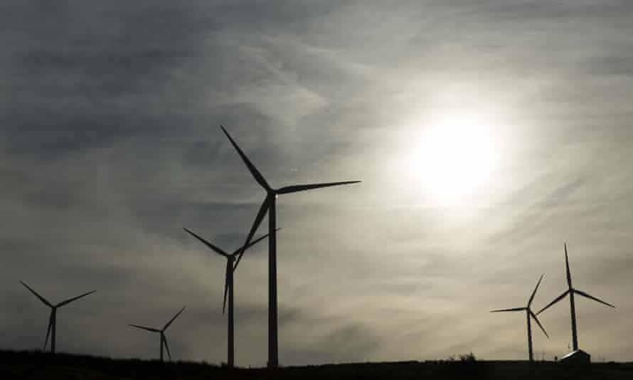 Public subsidies for onshore windfarms.