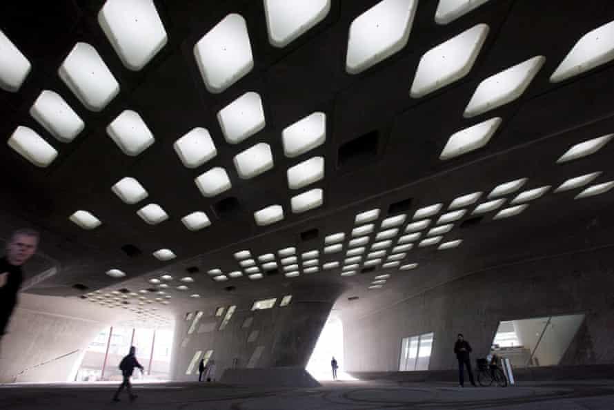 Science Centre Phaeno in Wolfsburg, Germany