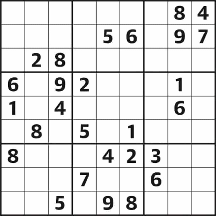 Sudoku 5,253 hard