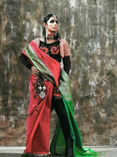 Transgender Pakistani model Kami Sid