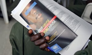 UN soldiers in Ivory Coast take part in sexual exploitation and awareness training
