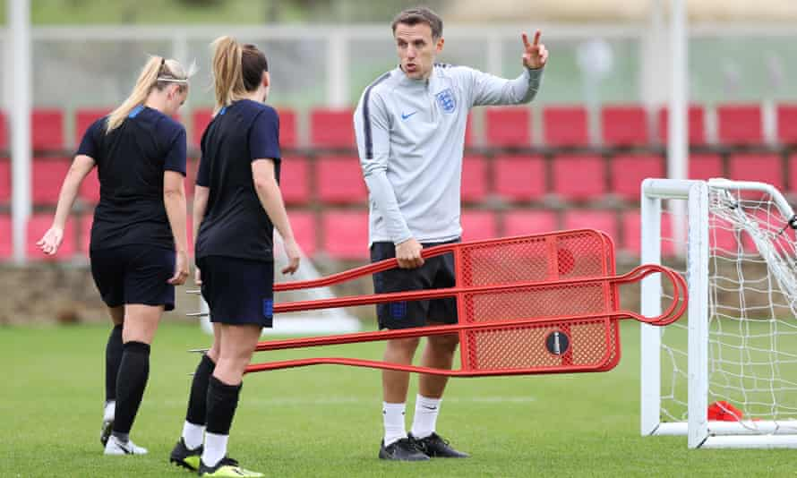 Phil Neville England Women manager