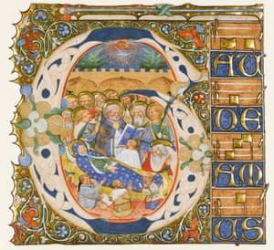 Dormition of the Virgin c. 1420 Master of Murano Gradual (active c. 1420 – 1440) Venice, Italy Dormition of the Virgin, Italy, Venice, c.1420, Master of the Murano Gradual (active c.1420-1440)