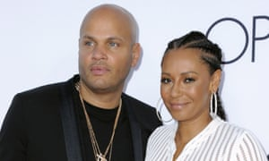 Stephen Belafonte and Mel B in 2016.