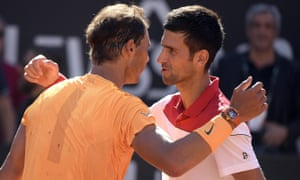 Rafael Nadal (left) and Novak Djokovic have had some great battles but the meaningless match in Saudi Arabia is not a game they need to play.