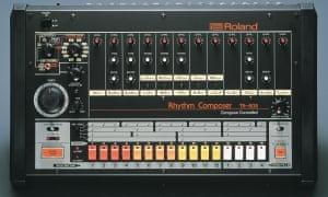 The Roland TR-808 drum machine